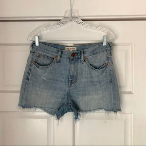 Madewell - High Rise Denim Shorts